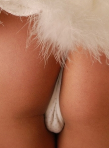 Brooke Wishes All A Merry Christmas As She Strips Out Of Her Frosty Outfit - Picture 1
